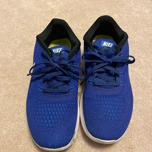 Size 8 Royal Blue Nike Free Athletic Shoes